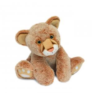 Histoire d'ours - HO3057 - Bébé Lion 25 cm  en boîte carton (463220)