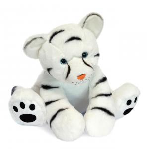 Histoire d'ours - HO3055 - Bébé Tigre Blanc - 35 cm (463228)