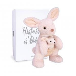 Histoire d'ours - HO3059 - SIDNEY LE KANGOUROU - 30 cm en boîte carton (463230)