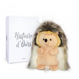 Histoire d'ours - HO3064 - CHOUPISSON LE HERISSON - 30 cm en boîte carton (463236)
