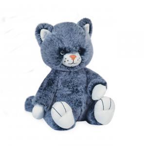 Histoire d'ours - HO3069 - LULU LE CHAT BLEU - 17 cm  en boîte carton (463246)