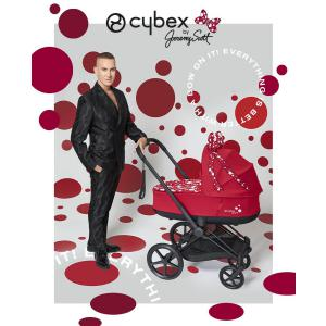 Cybex - BU537 - Poussette Priam nacelle PettiCoat Jeremy Scott (463380)
