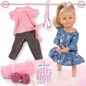 Gotz - 2111022 - Poupée 50 cm Lotta Yoga, cheveux blonds, yeux bleus (463420)