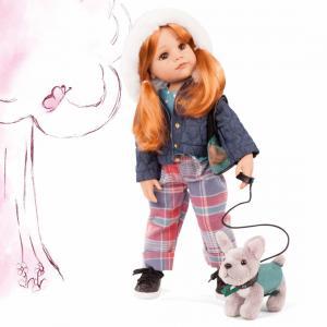 Gotz - 2159097 - Poupée 50 cm Hannah and her dog, 10-pcs. (463424)