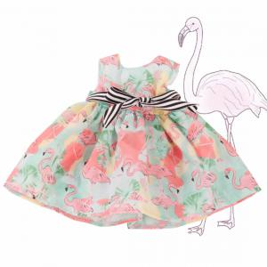 Gotz - 3403276 - Robe, Flamingo pour poupées de 50cm (463458)
