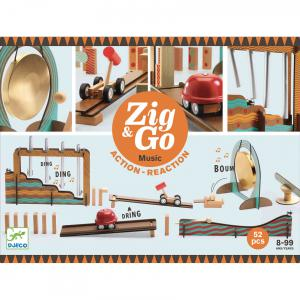 Djeco - DJ05645 - Zig & Go Zig & Go - Music - 52 pcs (463830)