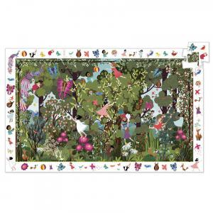 Djeco - DJ07512 - Puzzles observation Jeux au jardin - 100 pcs (463958)