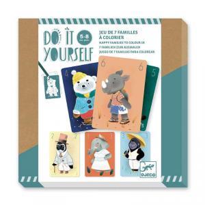 Djeco - DJ07947 - DIY - A colorier Chics animaux (464038)