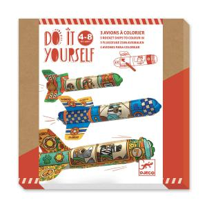 Djeco - DJ07948 - DIY - A colorier Dans le ciel (464040)