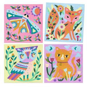 Djeco - DJ08680 - Sables colorés Garden lights (464070)