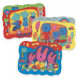 Djeco - DJ09066 - Coloriage des petits Caché en route (464098)