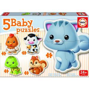 Educa - 13473 - Puzzle 24 mois animaux (46406)