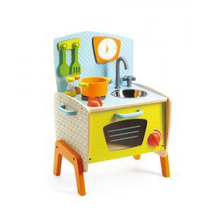 Djeco - DJ06517 - Jeu d'imitation - La cuisinière de Gaby (46485)
