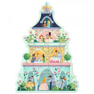 Djeco - DJ07130 - Puzzles géants La tour des princesses (46489)
