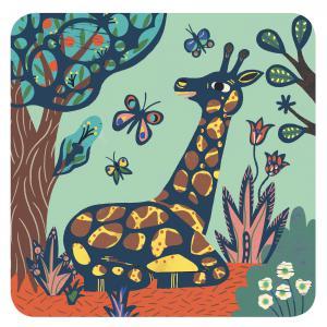 Djeco - DJ09095 - Cartes à gratter des petits Grosses bêtes (464106)