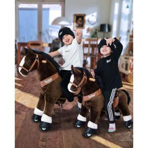Ponycycle - Ux321 - Ponycycle Cheval à monter petit modèle sonore avec frein 69x33x79 cm - Age 3-5 ans (464854)