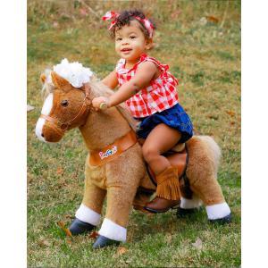 Ponycycle - Ux324 - Ponycycle Cheval à monter petit modèle sonore avec frein 69x33x79 cm - Age 3-5 ans (464856)