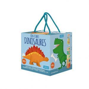 Sassi - 305618 - Edu-cubes - les dinosaures (464936)