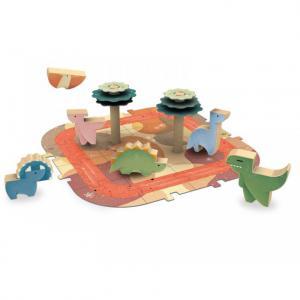 Sassi - 304505 - Jeux en bois - dinosaures (464960)
