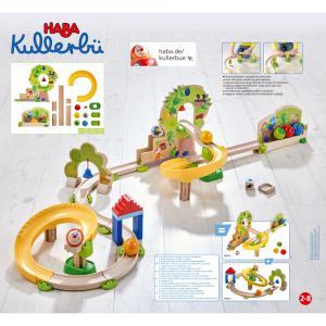 Haba - 306018 - Kullerbü – Toboggan à billes Le Verger (465140)