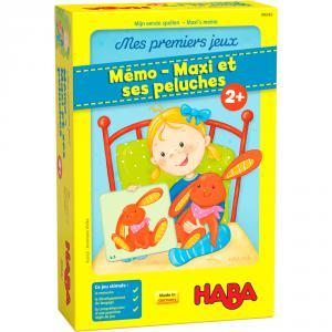 Haba - 306063 - Mes premiers jeux – Mémo – Maxi et ses peluches (465166)