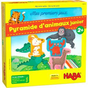 Haba - 306070 - Mes premiers jeux – Pyramide d'animaux junior (465168)