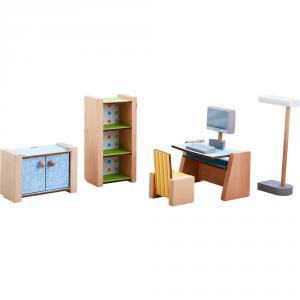 Haba - 306155 - Little Friends – Meubles de bureau pour maison de poupée (465234)