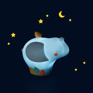 Moulin Roty - 669250 - Veilleuse éléphant (USB) Sous mon baobab (465390)
