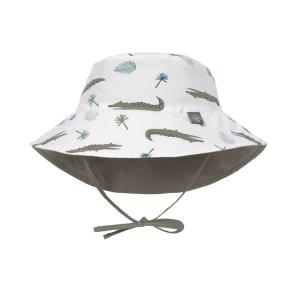 Lassig - 1433005132-06 - Chapeau anti-UV réversible crocodile blanc 3-6 mois (465914)