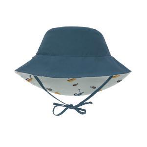 Lassig - 1433005574-18 - Chapeau anti-UV réversible bateau menthe 18-36 mois (465924)