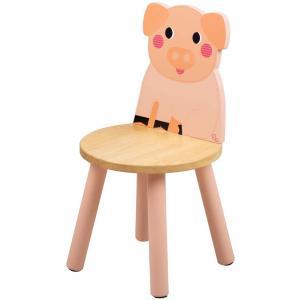 Tidlo - T0622 - Tidlo Chaise pour Enfant Cochon - la Ferme (466154)