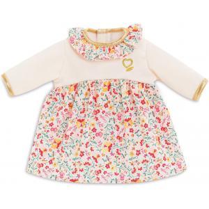 Corolle - 9000110520 - Vêtements pour bébé Corolle 30 cm -  robe hiver en fleurs (466462)