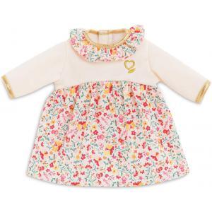 Corolle - 9000140980 - Vêtements pour bébé Corolle 36 cm -  robe hiver en fleurs (466478)