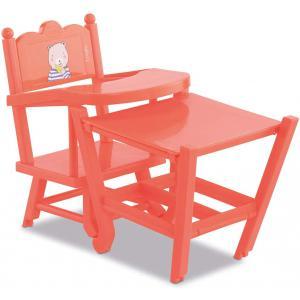 Corolle - 9000141040 - Accessoires pour bébés  36/42 chaise haute corail (466490)