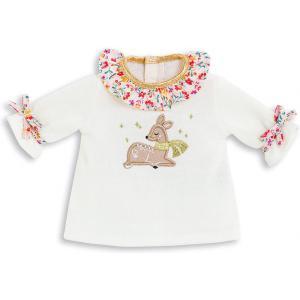Corolle - 9000211830 - Vêtement pour poupées Ma Corolle robe hiver en fleurs - taille 36 CM (466534)