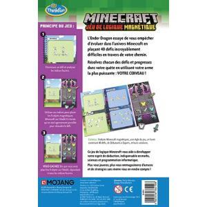 Ravensburger - 76419 - Minecraft - Jeu de logique magnétique (469782)