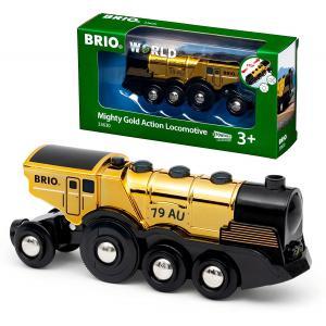 Brio - 33630 - Locomotive Dorée Puissante à piles (469788)