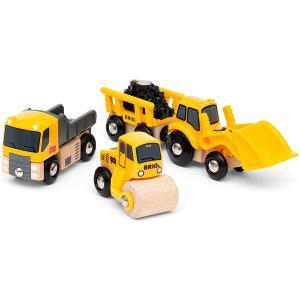 Brio - 33658 - Coffret de 3 engins de chantier (469792)