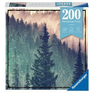 Ravensburger - 12958 - Puzzle Moment 200 pièces - Wood (470136)