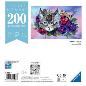 Ravensburger - 12960 - Puzzle Moment 200 pièces - Œil de chat (470140)