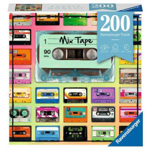 Ravensburger - 12962 - Puzzle Moment 200 pièces - Mixtape (470144)