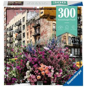 Ravensburger - 12964 - Puzzle Moment 300 pièces - New York fleuri (470148)