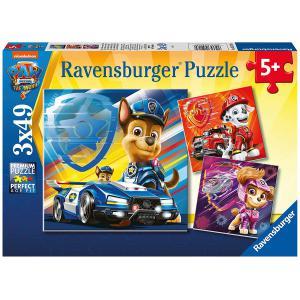 Ravensburger - 52189 - Puzzles 3x49 pièces - Chase, Marcus et Stella / Pat'Patrouille, le Film (470178)