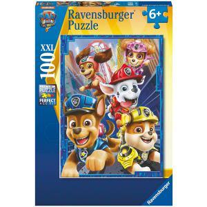 Ravensburger - 13268 - Puzzle 100 pièces XXL - Les chiens héroïques / Pat'Patrouille, le Film (470180)