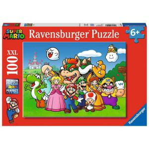 Ravensburger - 12992 - Puzzle 100 pièces XXL - Super Mario Fun (470184)