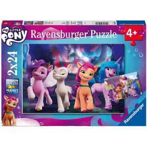Ravensburger - 52356 - Puzzle enfant My Little Pony (film) - 2 x 24 pièces (470188)