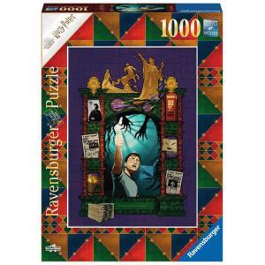 Ravensburger - 16746 - Puzzle 1000 pièces - Harry Potter et l'Ordre du Phénix (Collection Harry Potter MinaLima) (470208)