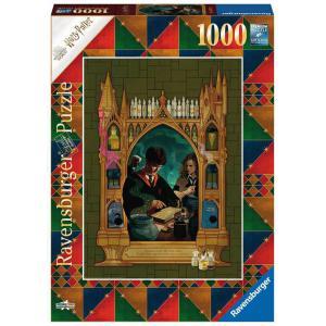 Ravensburger - 16747 - Puzzle 1000 pièces - Harry Potter et le Prince de Sang-mêlé (Collection Harry Potter MinaLima) (470210)
