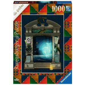 Ravensburger - 16748 - Puzzle 1000 pièces - Harry Potter et les Reliques de la Mort 1 (Collection Harry Potter MinaLima) (470212)