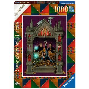 Ravensburger - 16749 - Puzzle 1000 pièces - Harry Potter et les Reliques de la Mort 2 (Collection Harry Potter MinaLima) (470214)